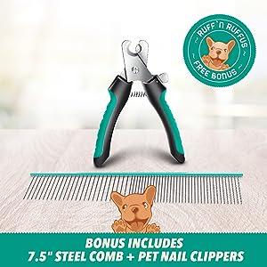 comb and nail clipper