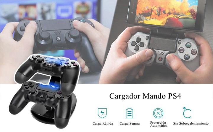 Cargador Mando PS4