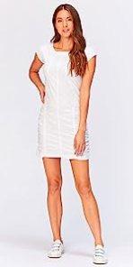 Aviana Dress in White