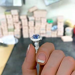 Mauli Engagement ring