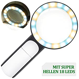 MIT SUPER HELLEN 18 LEDS