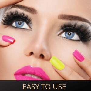 Glamm Lashes are very SIMPLE and EASY to use.