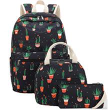 cactus backpack black