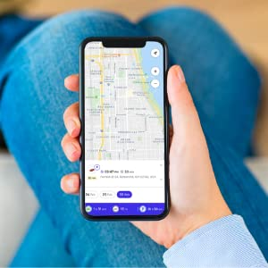 Real-time tracking using Google Maps