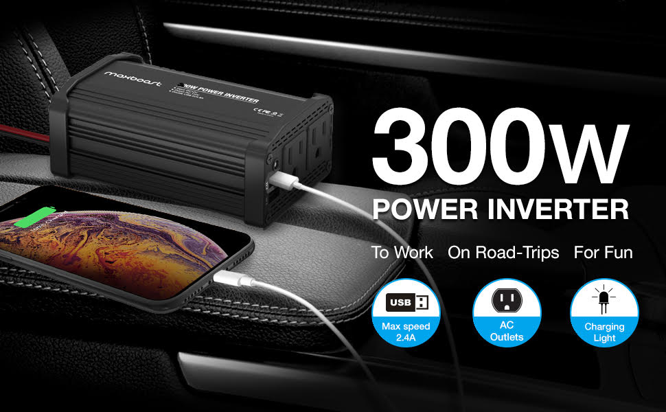 Maxboost 300W Power Inverter
