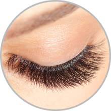 Thick and long lashes