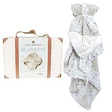 Zalamoon Strollets Plush Baby Toddler Soft Blanket