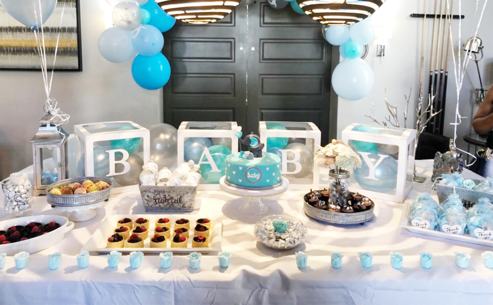 Boy Girl Baby Shower Boxes