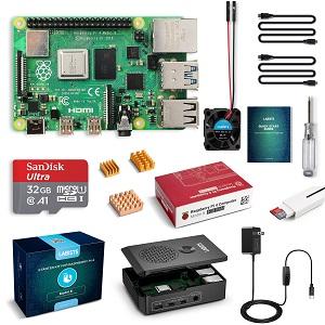 Raspberry Pi 4 Model B Starter Kit 88