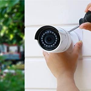 PoE Camera Installation