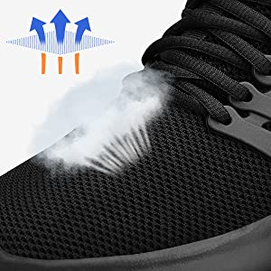 black shoes for women tennis shoes sports shoes walking jogging running shoes for women girls