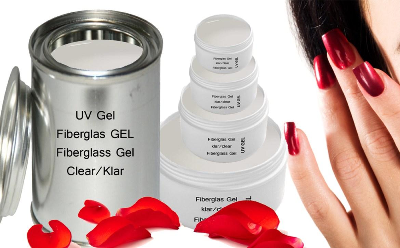 UV Fiberglas Gel Klar 30 ml Premium Line