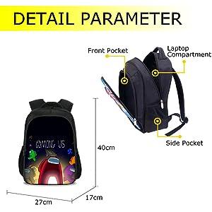 among us backpack