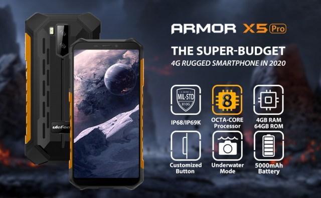 ulefone armor x5 pro rugged phones