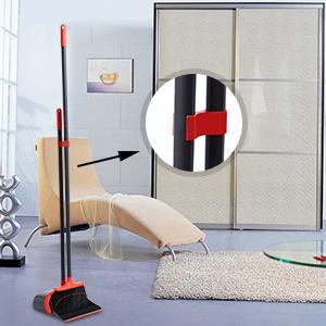 dustpan and broom set Upright broom dustpan set dustpan broom set lobby broom and dustpan combo