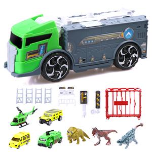Dinosaur Fan Dino Fun Toy Truck con design di archiviazione Festa di compleanno Scuola materna