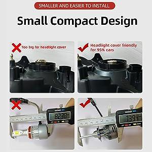 small compact design led