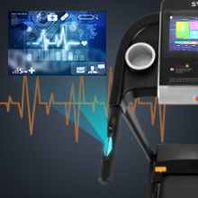Medical heart rate detection:  can customize the training plan
