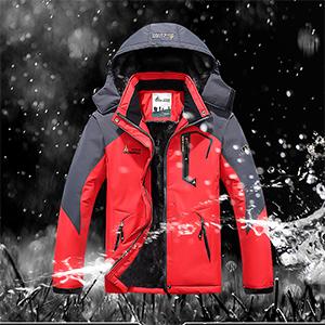 winter skiing hiking snowboarding jackets for men waterproof