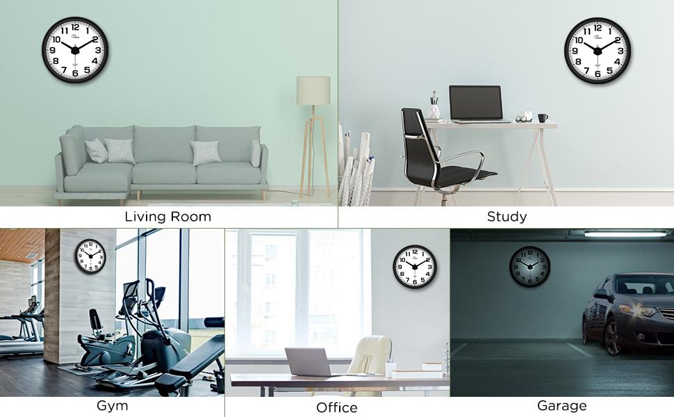 livingroom,kitchen,bedroom clock