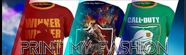 Print My Fashion - T-Shirt Combos for Boys, Kids & Girls