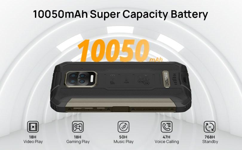smartphone 10050mAH