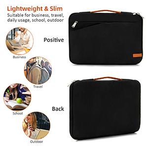 laptop sleeve case 17 17.3 15 15.6 13 13.3 inch for women men water resistant lightweight