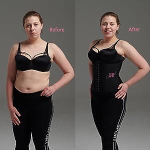waist trainer for women corset long torso underbust