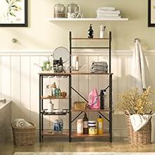kitchen storage shelf rack