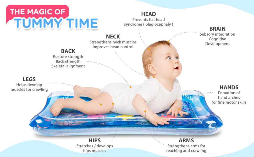 baby water mat 0-6month toy