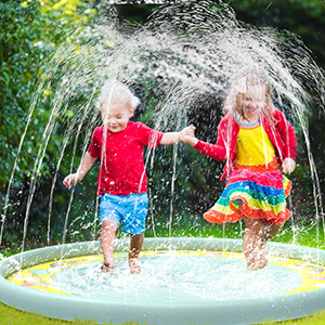 Tappetino da gioco Sprinkle e Splash