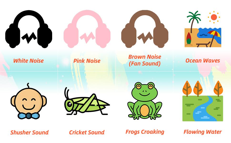 8 High Quality Sleep Soothing Sound