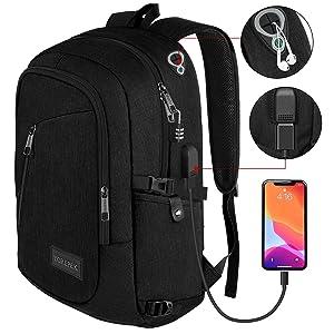 usb charging backpack slim backpack compact backpack travel backpack 15.6inch laotop backapck