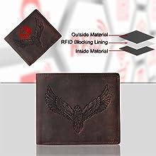 rfid blocking wallet, wallets for men, leather wallets , mens wallets, gifts for men, leather wallet