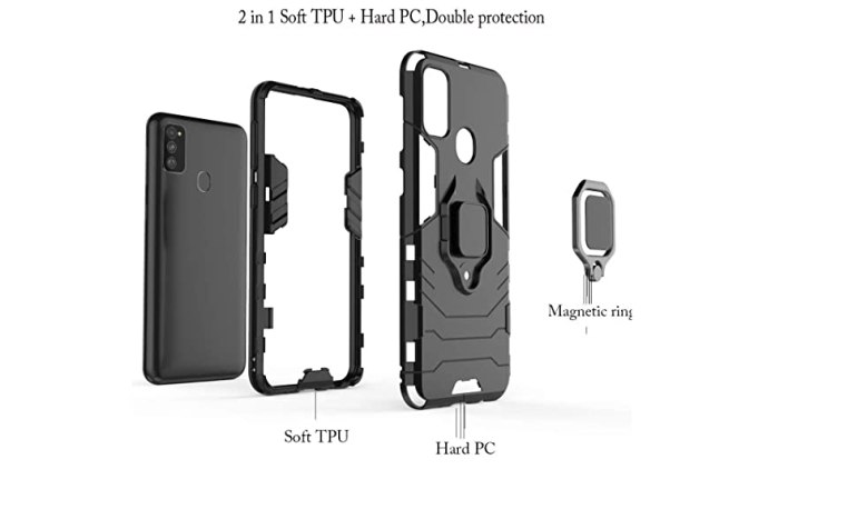 samsung galaxy m30s back cover stand