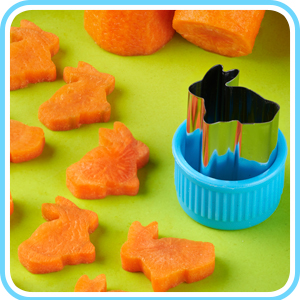 Vegetable cutters for kids