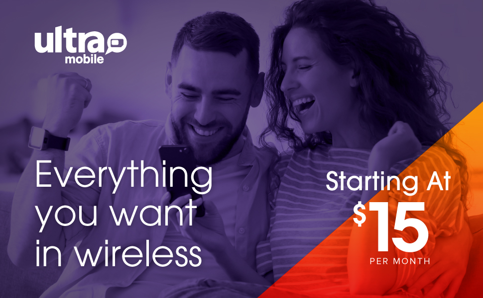 All your wireless essentials - Starting at 15 dollars a Month