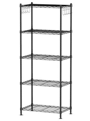 5-Ti er Wire Shelving Rack