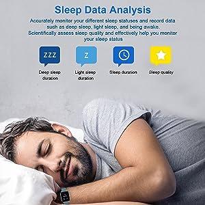 sleep monitor fitness tracker activity tracker sleep tracker smart watch