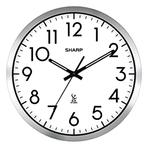 Sharp Atomic Wall clocks automatic time