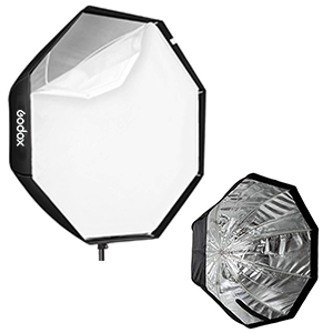 Octagonal unbrella softbox 120cm