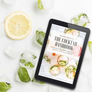 gift free handbook cocktails drinks recipes guide