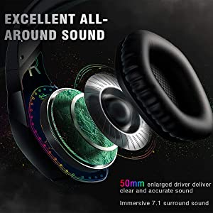 V1 usb headset with microphone