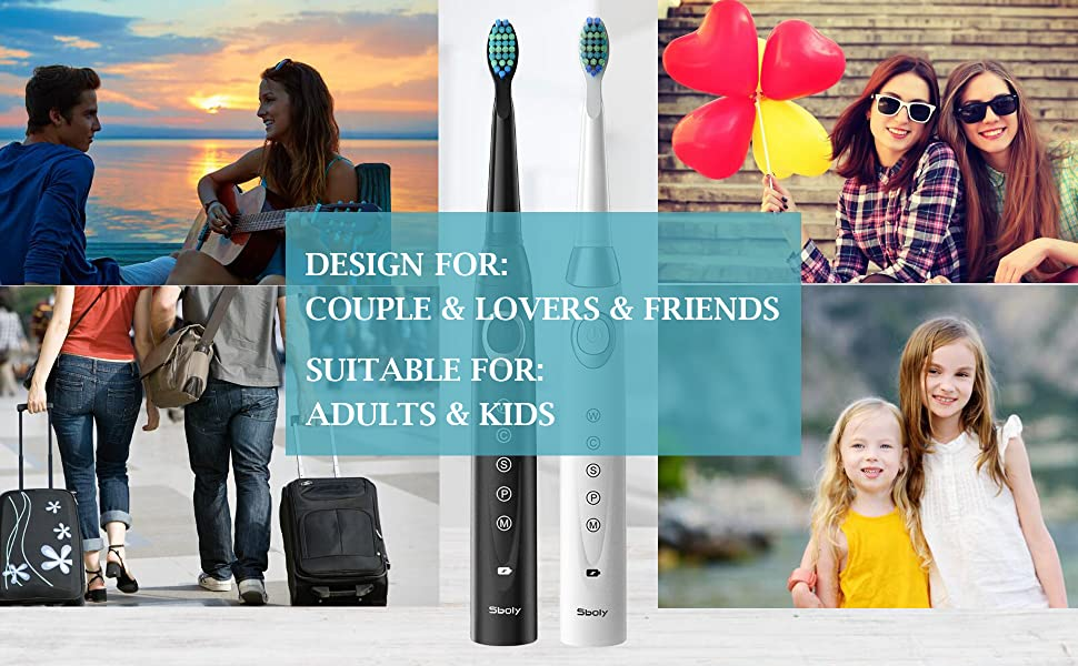 electric toothbrush for adults and kids, travel electric toothbrush