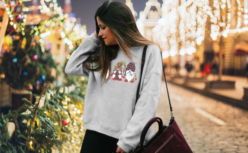 Gnomes Sweatshirt for Women