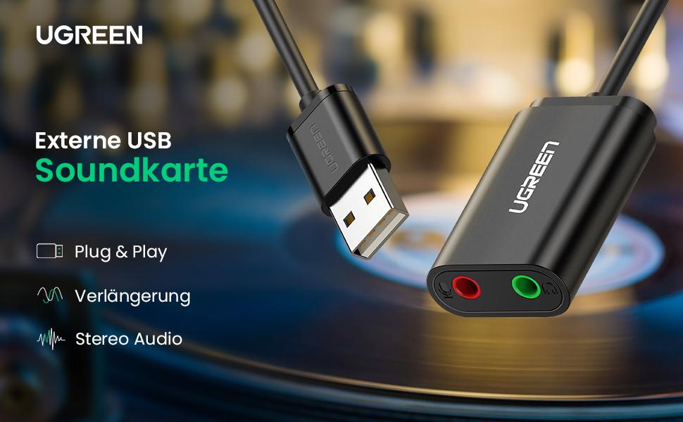 Externe USB Soundkarte
