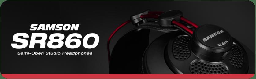 Samson SR860 Semi Open Studio Headphones