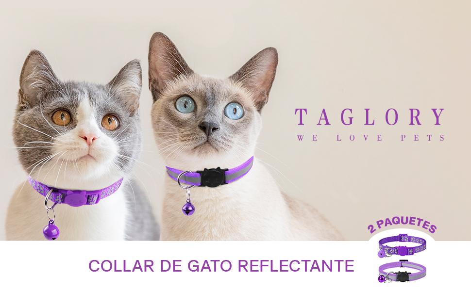 Collar Gato Reflectante
