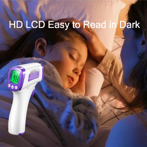 HD LCD Easy to Read in Dark