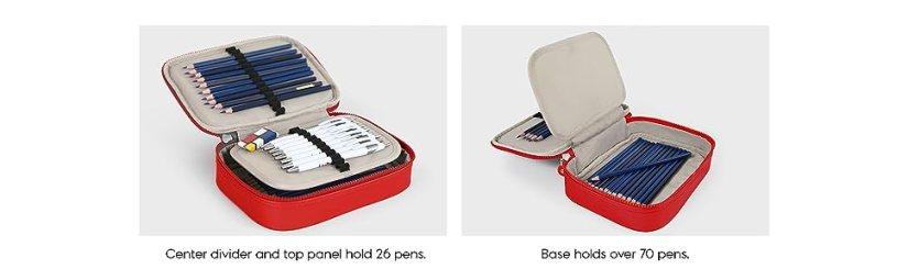 kipling pen pencil pouch versatile case school supplies carry learning fashion girls boys
